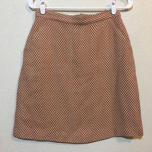 Tucker for target herringbone skirt